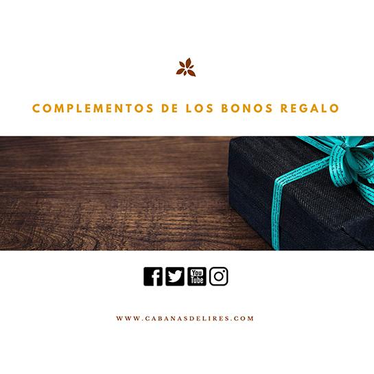 Complementos de los Bonos Regalo