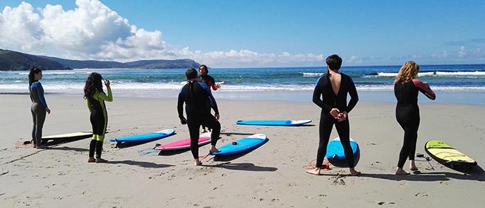 Actividades en el mar Costa da Morte